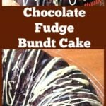 Chocolate Fudge Bundt Cake. A very easy recipe for a super moist and soft cake with a yummy Chocolate ganache topping. This is so good!