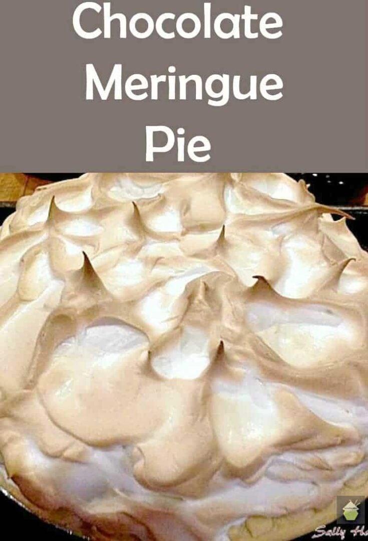 Chocolate Meringue Pie1