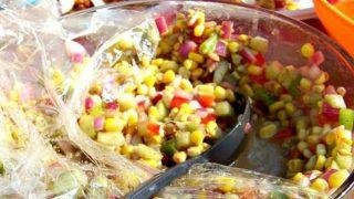 Corn and Cucumber Picnic Salad