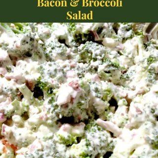 Cari's Creamy Bacon and Broccoli Salad