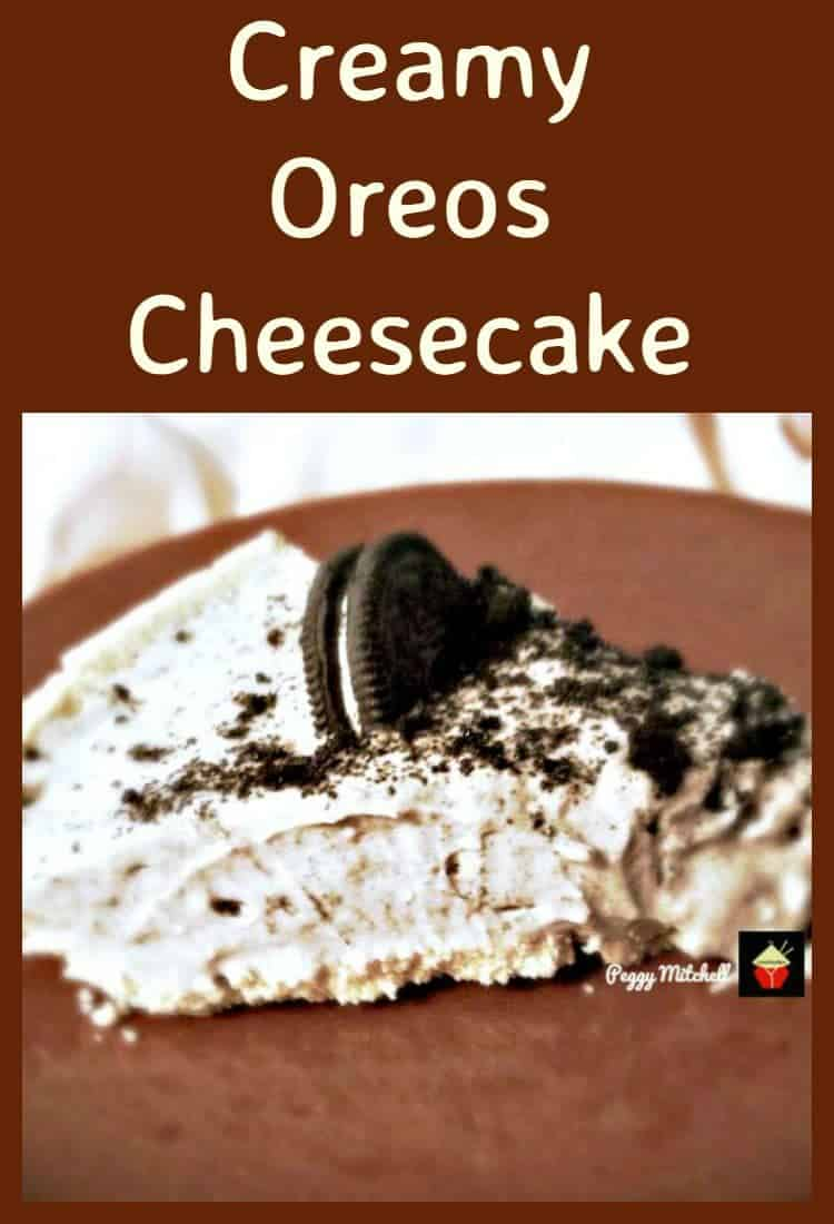 Creamy Oreos Cheesecake Lovefoodies
