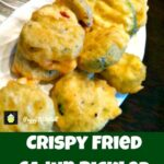 Crispy Fried Cajun Pickled Dills