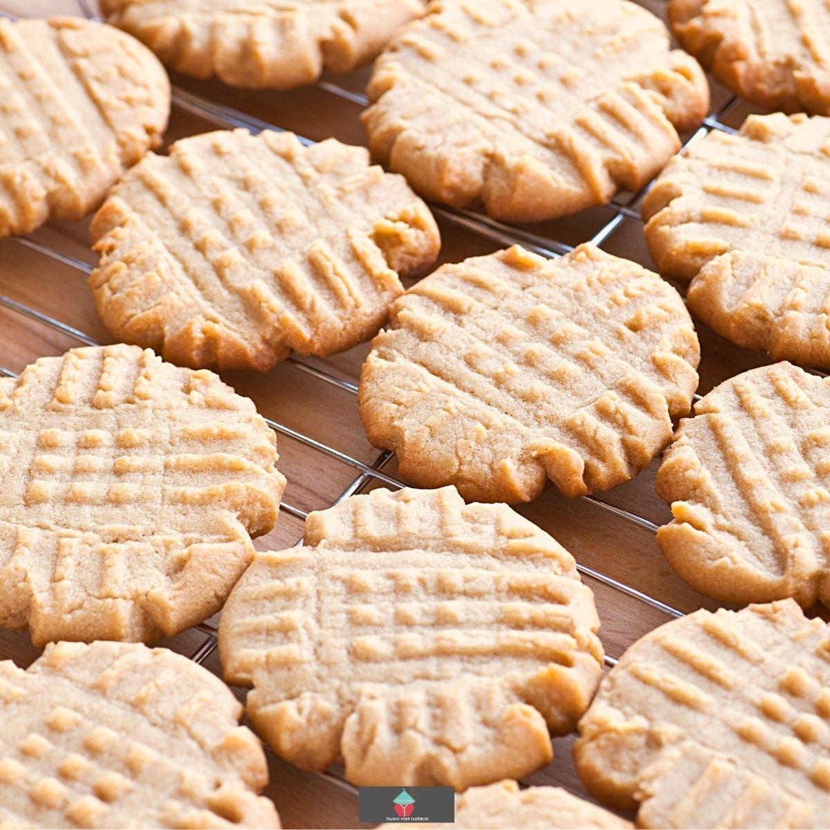 Criss Cross Vanilla Cookies