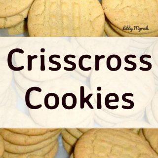 Crisscross Cookies
