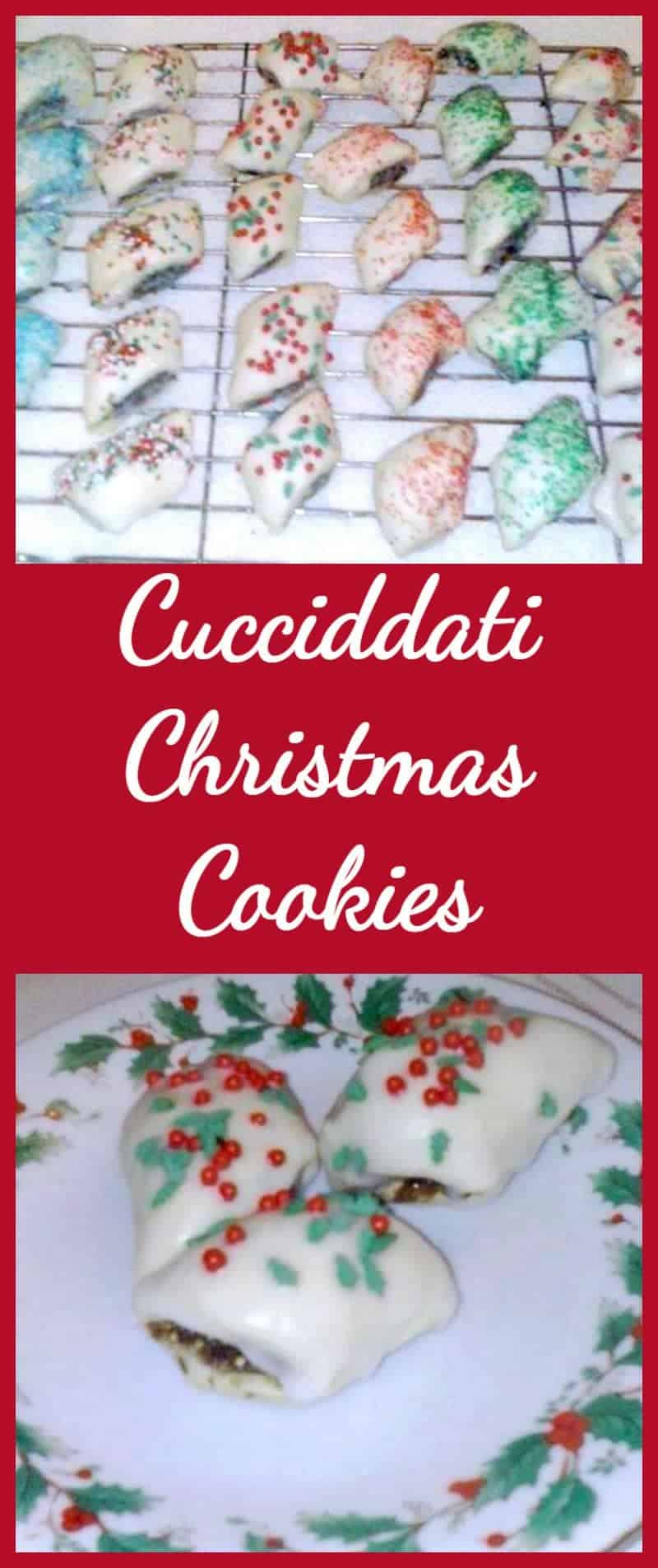 Cucciddati Christmas Cookies, A wonderful Italian cookie recipe and perfect for Christmas