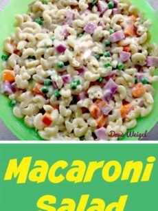 Tasty Macaroni Salad with a great Homemade Dressing. Always a hit!