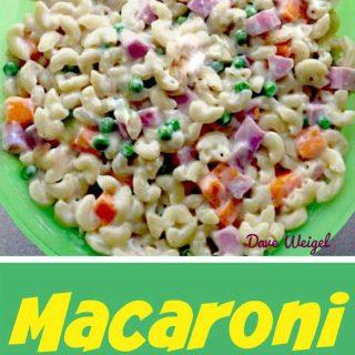 Dave's Tasty Macaroni Salad