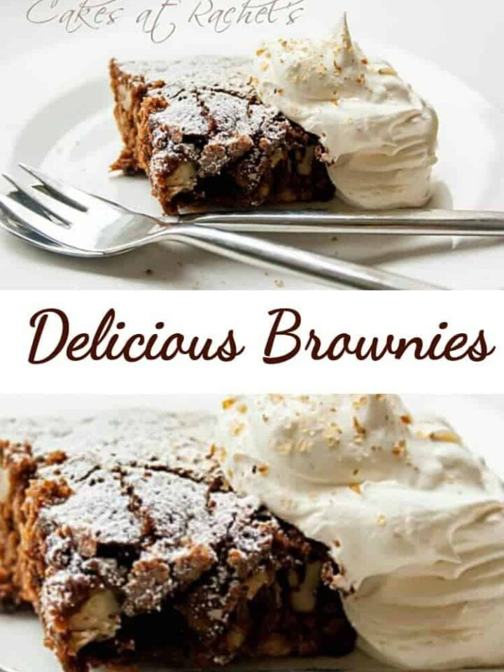 Delicious Brownies! This is a wonderful easy recipe, and perfect for any brownie lover!