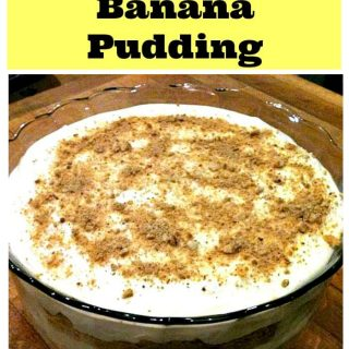 Quick & Easy Lite Banana Pudding - A true family recipe!