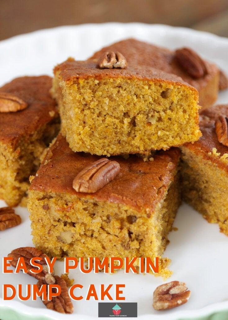 Easy Breezy Pumpkin Dump CakeH