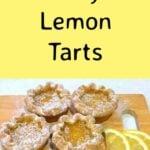 Easy Lemon Tarts