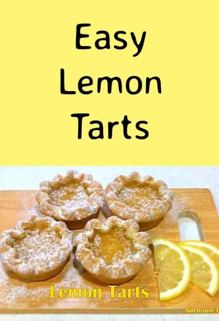 Easy Lemon Tarts2