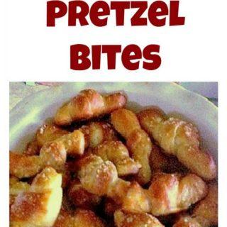 Easy Pretzel Bites Great party food!
