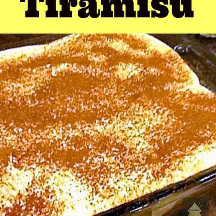 Easy Tiramisu A fabulous recipe, great tasting and sure to please!