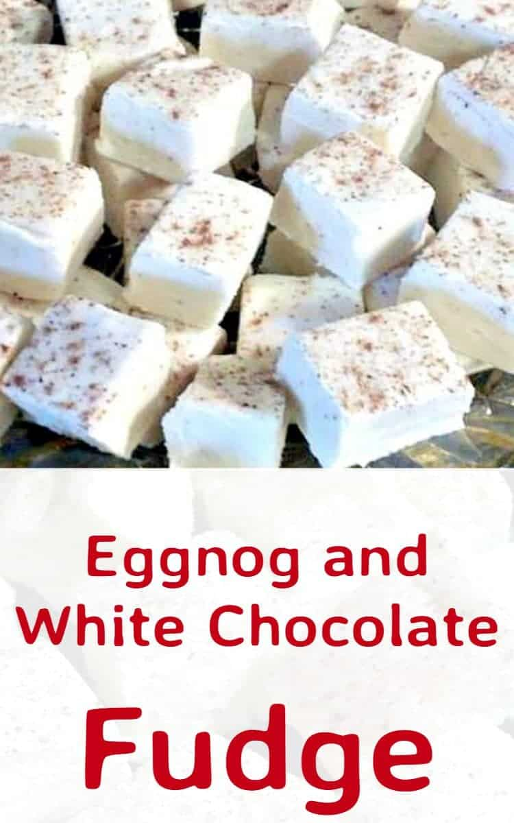 Eggnog and White Chocolate Fudge – Lovefoodies