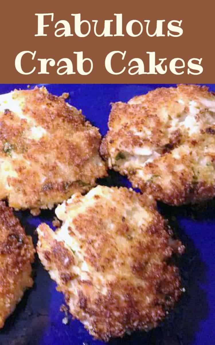 Fabulous crab cake recipe