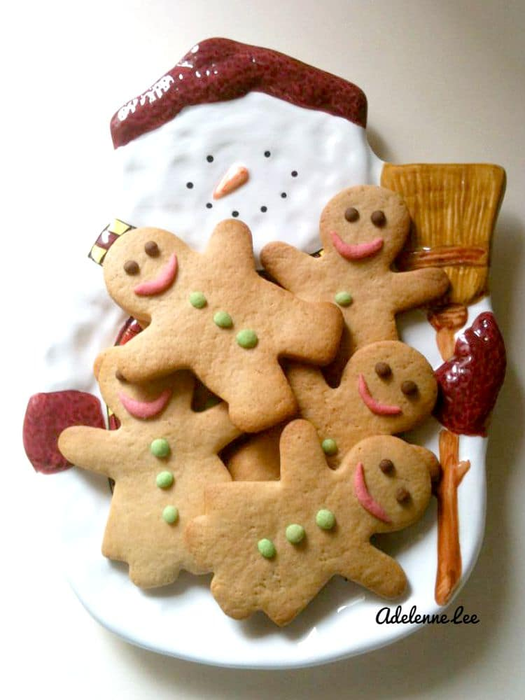 Gingerman or even Gingerlady Cookies! Very cute and fun to make, have fun decorating these!