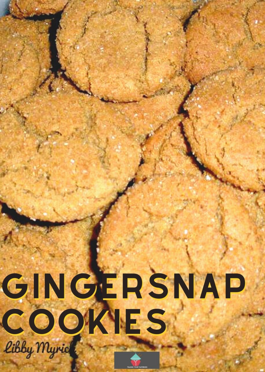 Gingersnap Cookies. Crunchy gingersnap cookies have a lovely combination of spices and ginger to make the perfect cookie. Quick and easy recipe using simple ingredients.