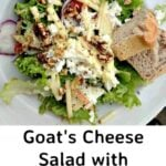 Goat's Cheese Salad with Herb and Walnut Vinaigrette