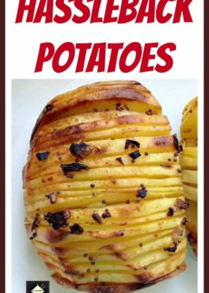 Hassleback Potatoes - Simple recipe, In the oven or on the grill (in foil) and add whatever flavours you like too! even a blob of sour cream or mayo on the top when they're done