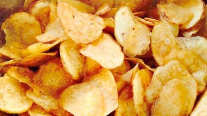 Home Made Potato Chips