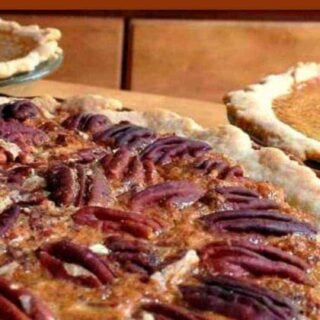 Homemade Pecan Pie. A delicious pie all made from scratch and super easy too!