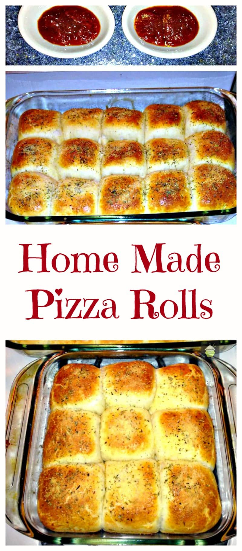 Home Made Pizza Rolls Lovefoodies