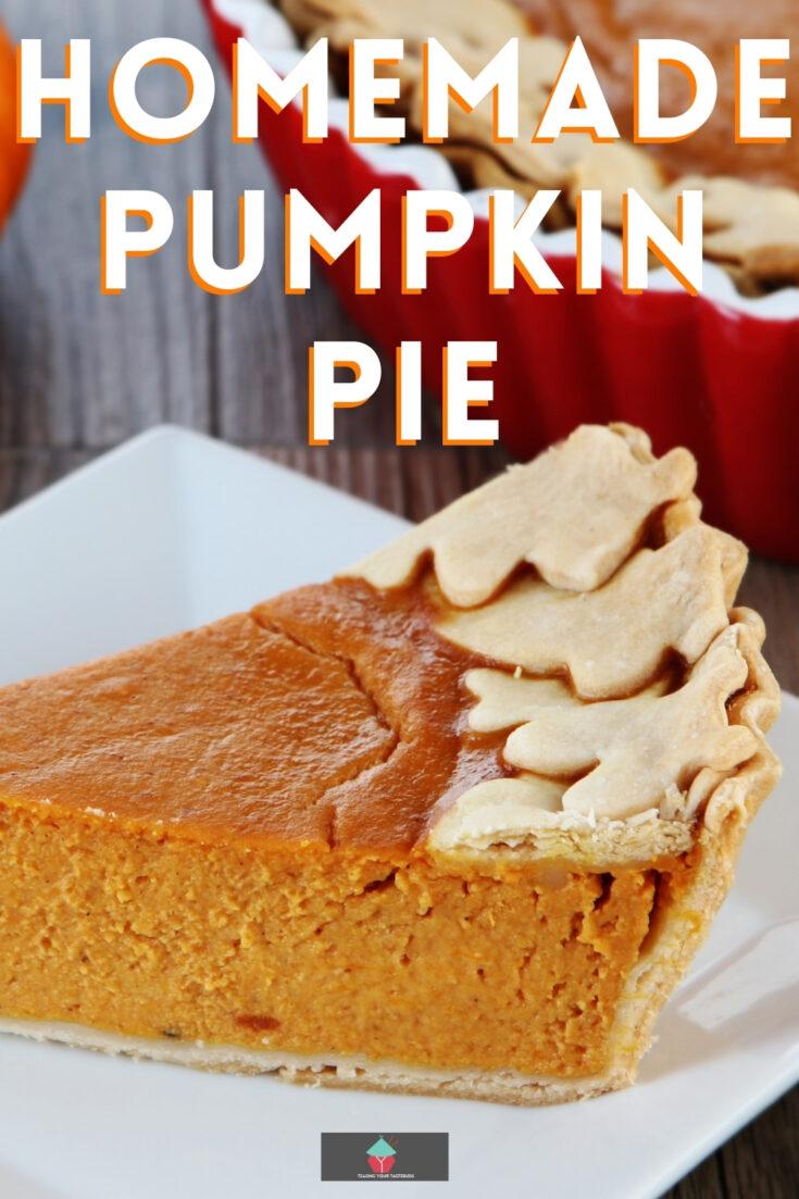 Homemade Pumpkin PieP1