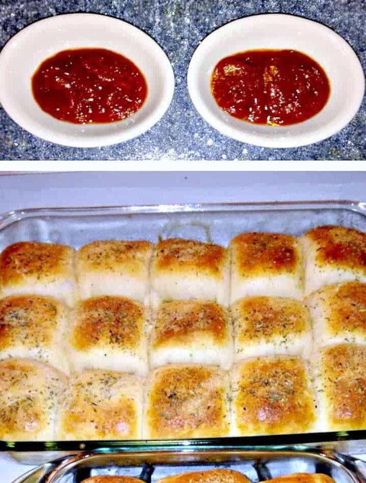 Home made Pizza Rolls. Use the filling suggestions in the recipe or add your own !Great for the freezer too!