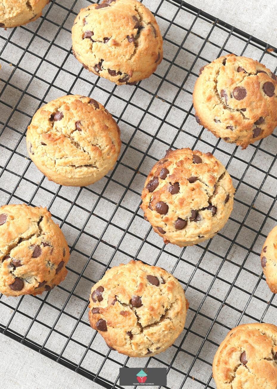 Joy Cookies on cooling rack
