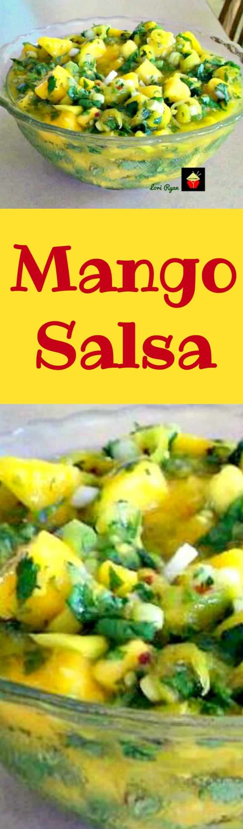 Mango Salas is so delicious! It's quick and easy to prepare and the combination of flavors makes for a very refreshing dish!