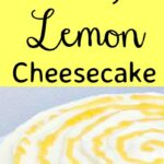 Lovely Lemon Cheesecake. Super delicious, refreshing and real easy to make No Bake Dessert. Serve chilled or semi frozen. Both ways are yummy!