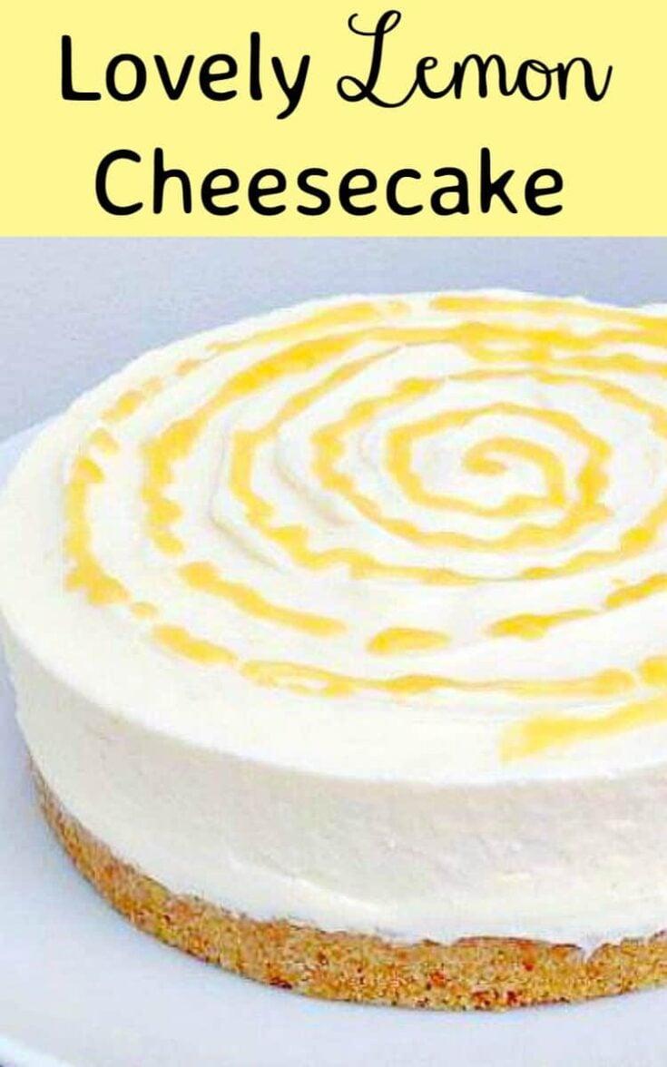 Lovely Lemon Cheesecake2