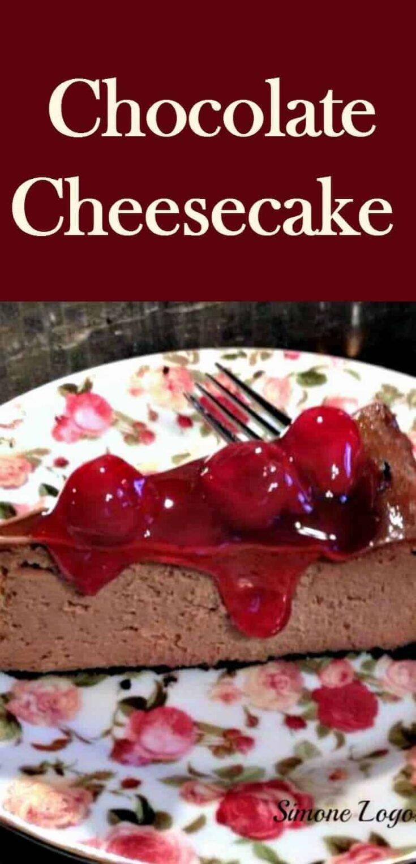 Luxury Chocolate CheesecakePTL