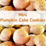 Mini Pumpkin Cake Cookies