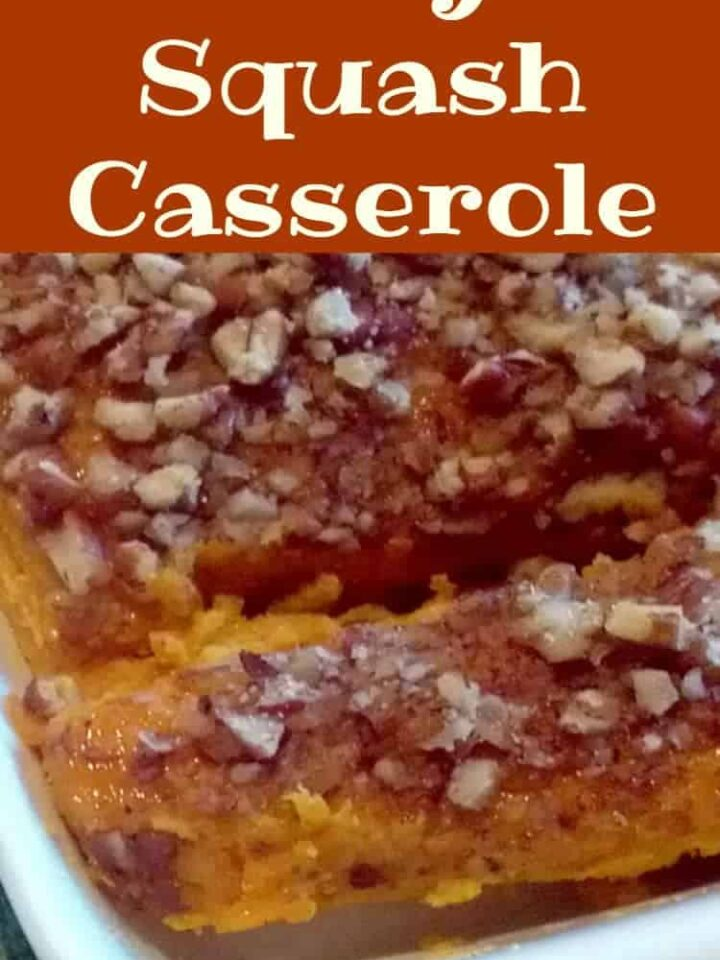 Easy Squash Casserole. Delicious, easy recipe and also great for making ahead if you wish. Freezer friendly.