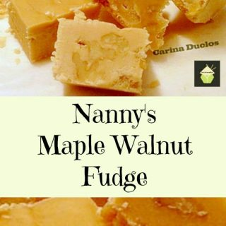 Nanny Pat's Maple Walnut Fudge