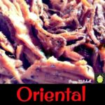 Slow Cooker Oriental Pulled Pork, great in wraps!