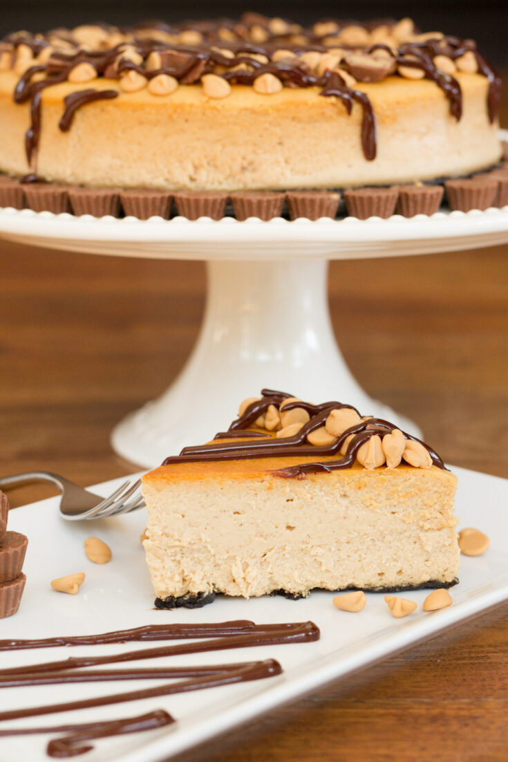 Peanut Butter Brownie Cheesecake3 1 scaled
