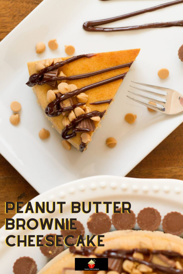 Peanut Butter Brownie CheesecakeH scaled