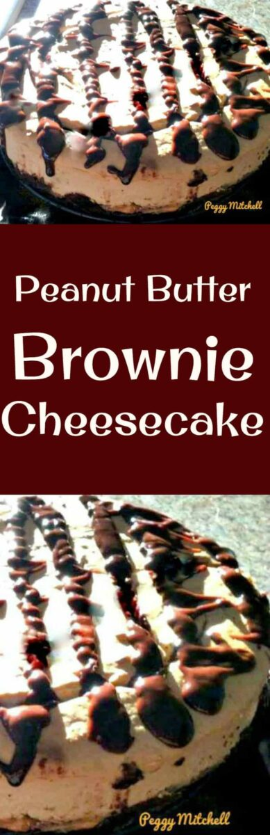 Peanut Butter Brownie Cheesecake - Simply WOW!