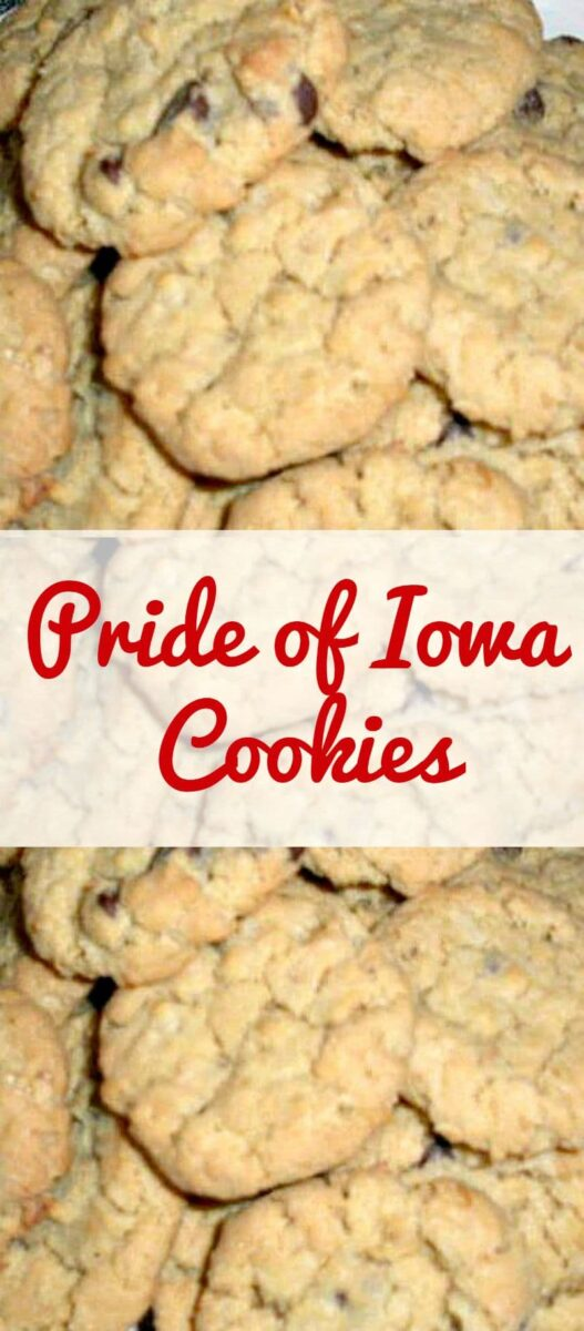 Pride of Iowa Cookies. Come and see what makes these cookies so special!