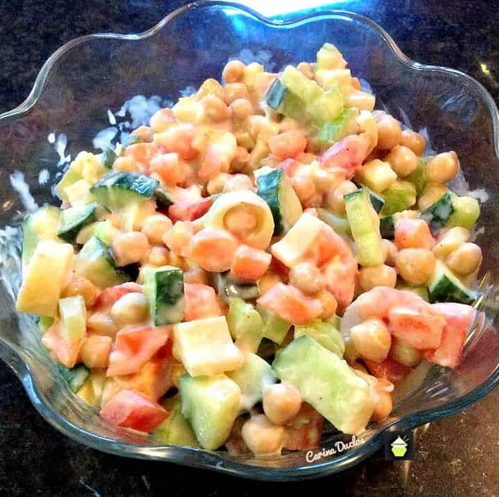 Refreshing Shrimp Salad is a lovely salad which you can make ahead. There's also a great dressing recipe too!