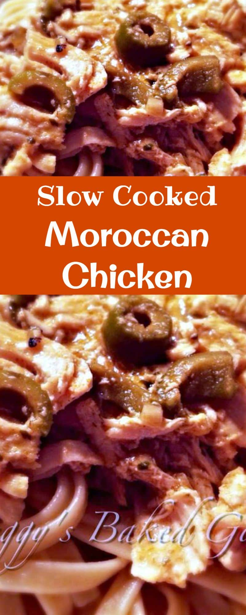 Slow Cooked Moroccan Chicken. The flavours in this are amazing and just close your eyes and imagine the aromas coming from this when it's cooking!