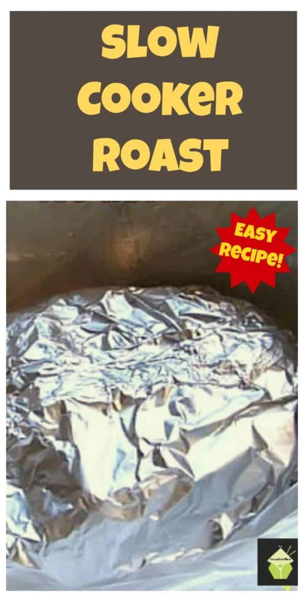 How to make Slow Cooker Roast. Use Beef, pork etc, leaves your meat full of flavour and of course super tender! Easy Instructions.