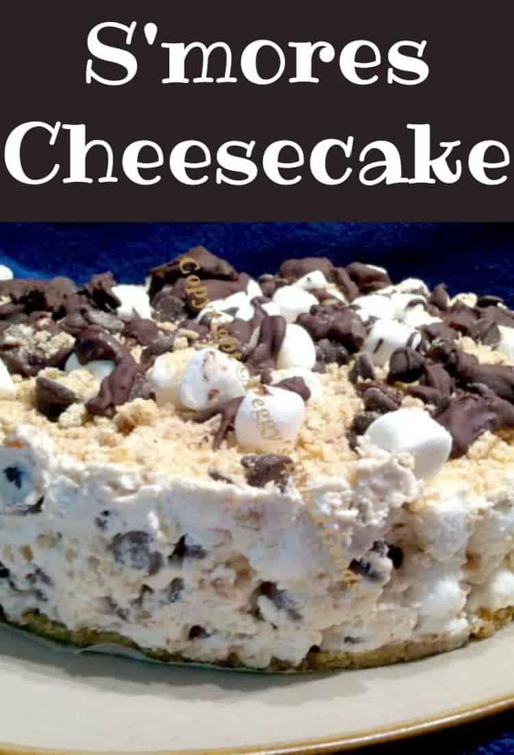 Smore's Cheesecake - For all you Smore's fans out there, this is great for any occasion and always a hit with a crowd. | Lovefoodies.com