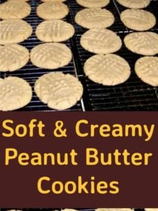 Soft & Creamy Peanut Butter Cookies - Come and see the magic of these cookies! They really are so good