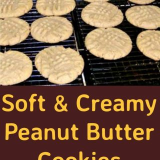 Soft and Creamy Peanut Butter Cookies