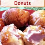 Strawberry and Cream Cheese Donuts
