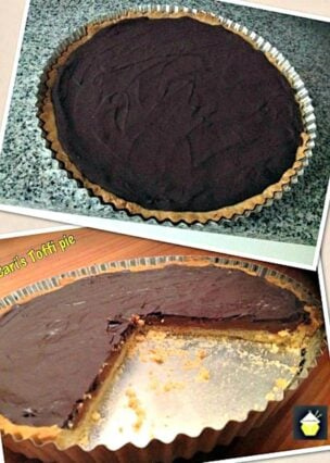 Easy Toffee Pie, deliciousness in every bite!